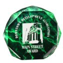 Green Marble Octagon Self-standing Acrylic