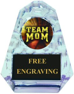 Pyramid Ice Team Mom Acrylic