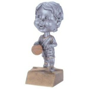 Boys Basketball Bobble Head Trophy