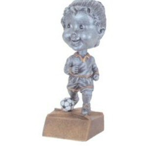 Girls Soccer Bobble Head Trophy