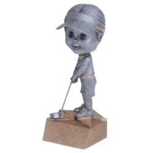 Girls Golf Bobble Head Trophy