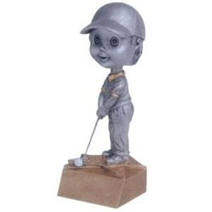 Boys Golf Bobble Head Trophy