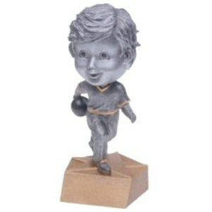 Boys Bowling Bobble Head Trophy