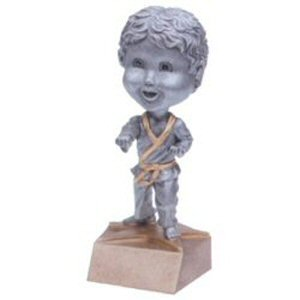 Boys Martial Arts Bobble Head Trophy