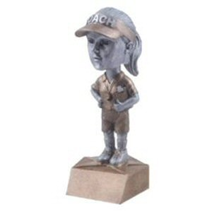 Female Coach Bobble Head Trophy