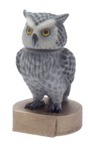 Owl Mascot Bobble Head Trophy