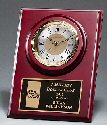Cherry Finish Award Clock