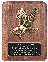 Genuine American Walnut Eagle Plaque