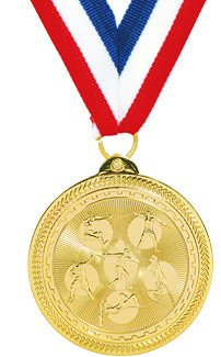 Britelazer Track Field Events Medal