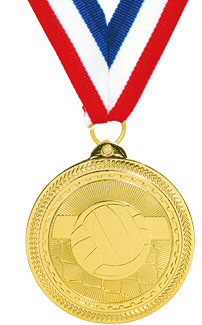 Britelazer Volleyball Medal