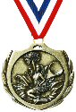 Burst Cheerleader Medal