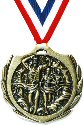 Burst  Cross Country Running Medal