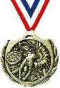 Burst Swimming Medal