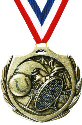 Burst Tennis Medal