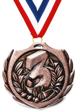 Burst Third Place Medal