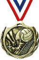 Burst Volleyball Medal