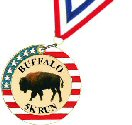 Custom Stars and Stripes Medal