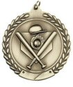 Economy Wreath Medal - Baseball / Softball
