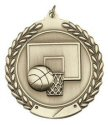 Economy Wreath Medal - Basketball