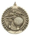 Economy Wreath Medal - Golf