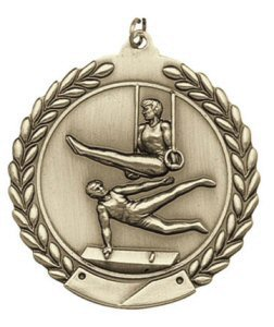 Economy Wreath Male Gymnastics Medal