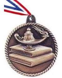 High Relief Knowledge Medal
