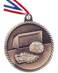 High Relief Soccer Medal