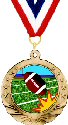 Football Motion Medal