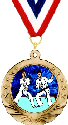 Motion Karate Medal