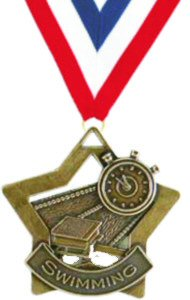 Star Swimming Medal