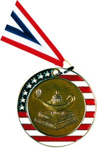 Stars and Stripes Knowledge Medal