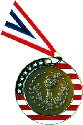 Stars and Stripes Torch Medal