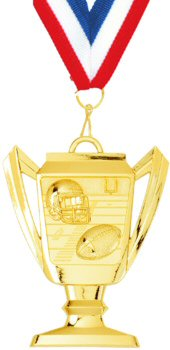 Trophy Cup Football Medal