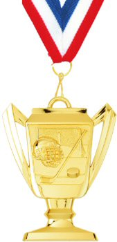 Trophy Cup Hockey Medal
