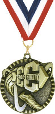Value Cross Country Running Medal