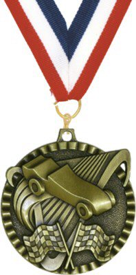 Value Pinewood Derby Medal