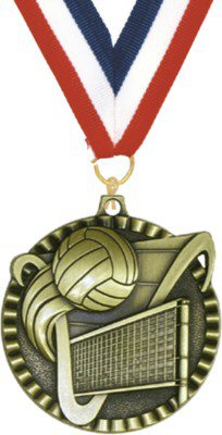 Value Volleyball Medal