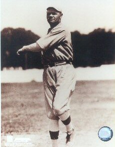 Babe Ruth Action Photo