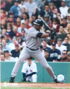 Bernie Williams Action Photo