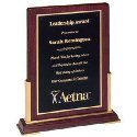 Gold Accents Desktop Plaque