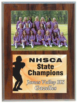 Slide in 5 inch x 7 inch Photo Plaque
