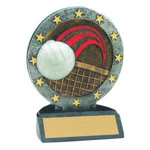 All Star Volleyball Resin Awards