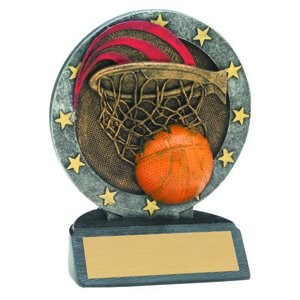 All Star Basketball Resin Award