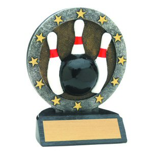 All Star Bowling Resin Award
