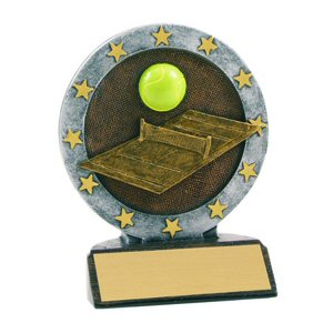 All Star Tennis  Resin Award