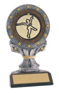 All Star Baton Twirling Resin Trophy