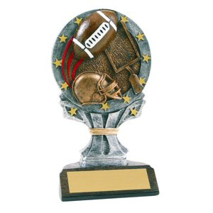 All Star Football Resin Trophy