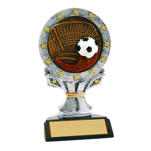 All Star Soccer Resin Trophy