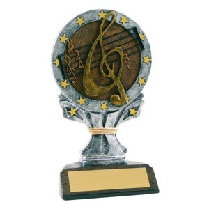 All Star Music Resin Trophy
