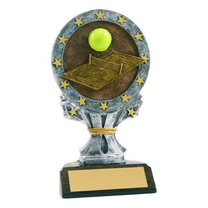 All Star Tennis Resin Trophy